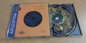 Picture 1: A Tango CD
