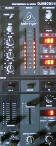 Picture 5: Output channel of the Mixer with drawer fully open.