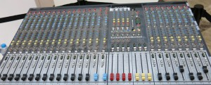 Picture 7: Bigger house mixer with 24 channels. Always remember, you only need one of them.
