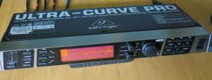 Picture 14: Computerized Equalizer and Analyzer (Ultracurve-pro DEQ2496 from Behringer)