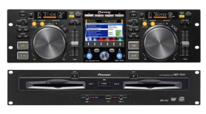 Professional dual CD-Player